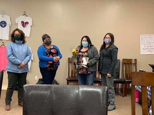 Jewel Charles, La Ronge Native Women's Council Scholarship 2020 recipient Jewel Charles
